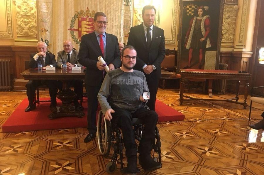 Óscar Puente, Julio Herrero e Ignacio Fadrique en la entrega del premio Piñón de Oro 2017