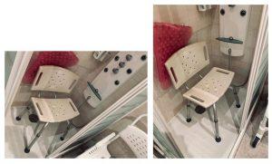 imagen de la silla desde diferentes ángulos