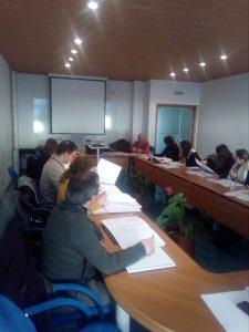 Socios en la reunión del proyecto Fronteira