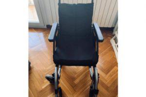 vista frontal de la silla en venta
