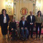 """ASPAYM CyL y el Ayuntamiento de Valladolid presentan """"Valladolid Accesible"""""""