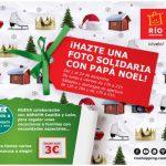 Fotos solidarias con Papá Noel en Río Shopping
