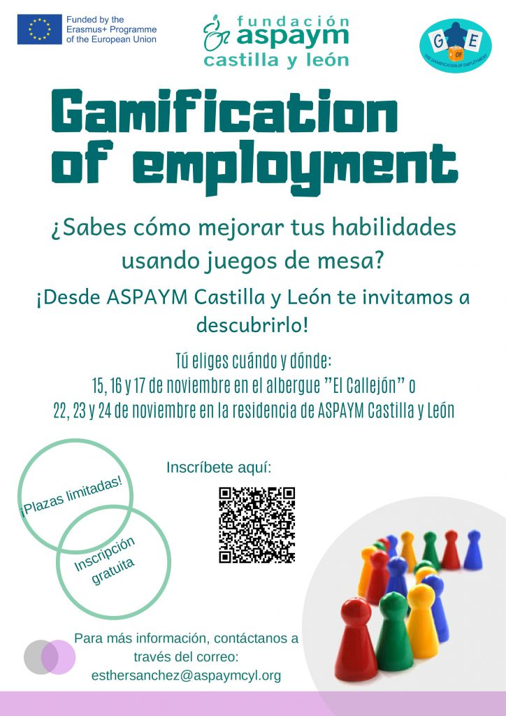 Cartel de las jornadas Gamification of employement