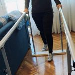 Barras paralelas de fisioterapia