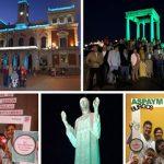 Tres provincias de Castilla y León se iluminan por el Día de la Lesión Medular