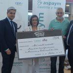 ASPAYM Castilla y León recibe una donación del AC Hotel Palacio de Santa Ana para prevención del ictus