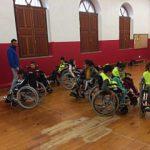 ASPAYM Castilla y León sensibiliza a los niños palentinos con un taller sobre deporte y discapacidad
