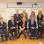 ASPAYM Castilla y León presenta su Programa de Mayores con la consejera de Familia e Igualdad de Oportunidades, Isabel Blanco