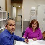 ASPAYM Castilla y León firma un convenio con el Colegio Oficial de Trabajo Social de Ávila