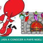 Visita de Papá Noel a ASPAYM Castilla y León