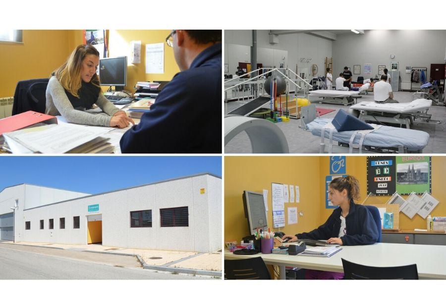 Foto de inserción de empleo, terapia ocupacional, gimnasio e instalaciones de Burgos