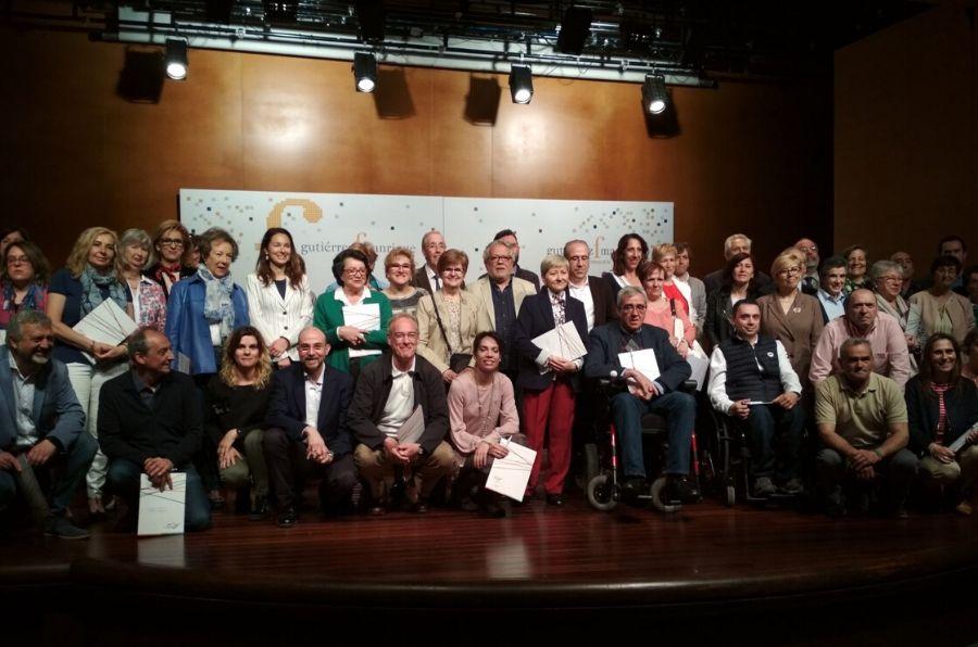 Firma del convenio con la Fundación Gutiérrez Manrique