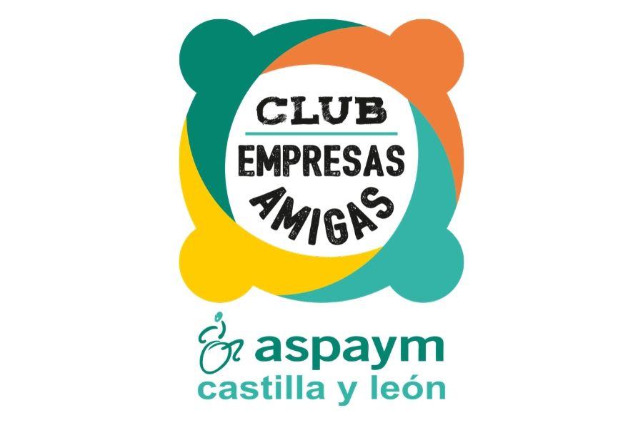 Logo Club Empresas Amigas ASPAYM CyL