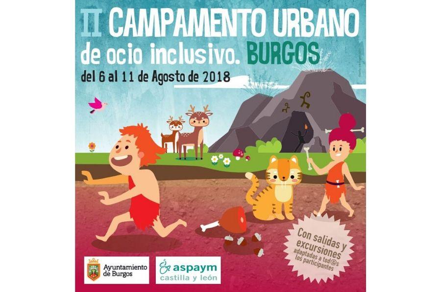 Cartel Campamento Burgos