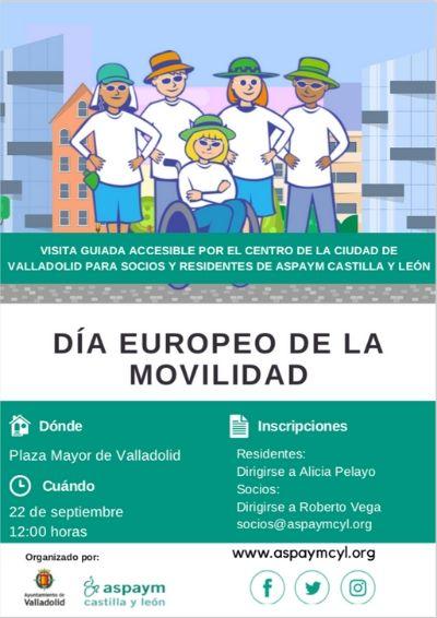 Cartel del Día Europeo de la Movilidad