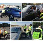 """La campaña """"No corras, no bebas... no cambies de ruedas"""" se ha realizado en cinco provincias de Castilla y León"""