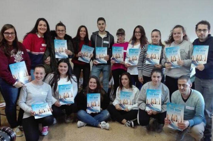 Participantes del encuentro Voluntariado Joven