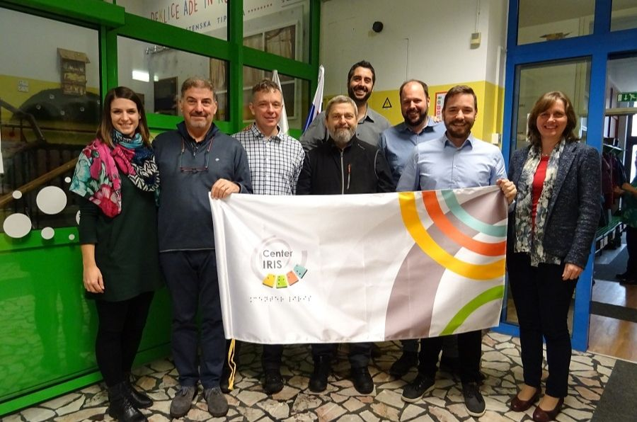 Participantes del proyecto OPEYE posan