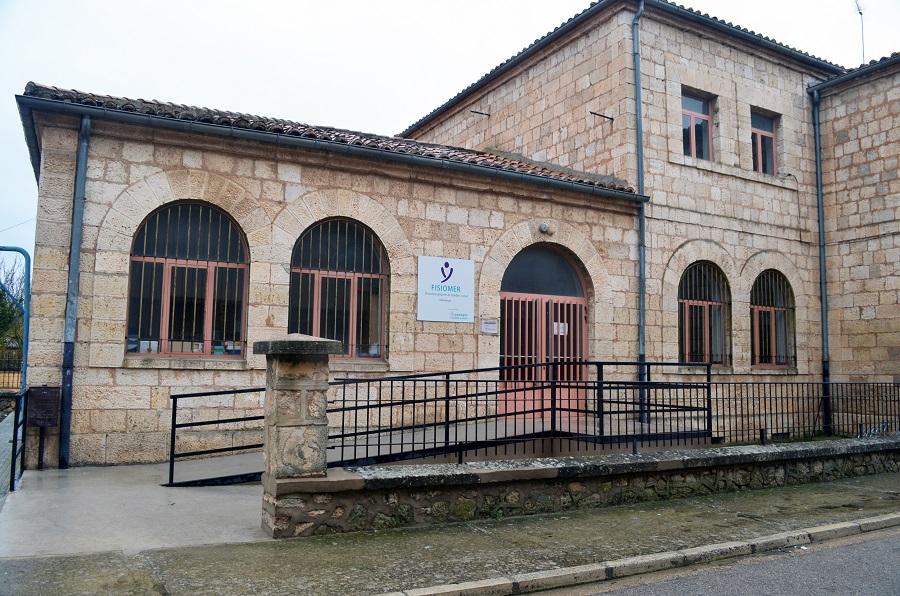 Fachada del edificio Fisiomer en Villadiego