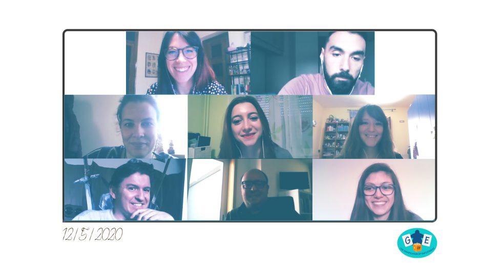 Asistentes a la reunión virtual del proyecto