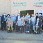 Isabel Blanco inaugura las nuevas instalaciones de ASPAYM Castilla y León en Camponaraya