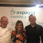 La III Cena Solidaria del Restaurante Gabi García recauda 600 euros para ASPAYM Castilla y León