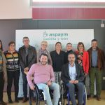ASPAYM Castilla y León inaugura sus desayunos informativos con la visita del PSOE