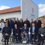 Alicia García visita las nuevas instalaciones de FISIOMER Matapozuelos