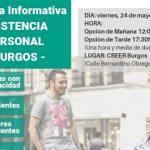 """Nueva Jornada Informativa: """"Asistencia Personal y Vida Independiente"""" en Burgos"""