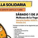 ASPAYM Castilla y León celebra una paella solidaria en Arroyo de la Encomienda