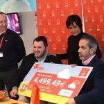 RÍO Shopping hace entrega de más de 8.000 euros en donaciones