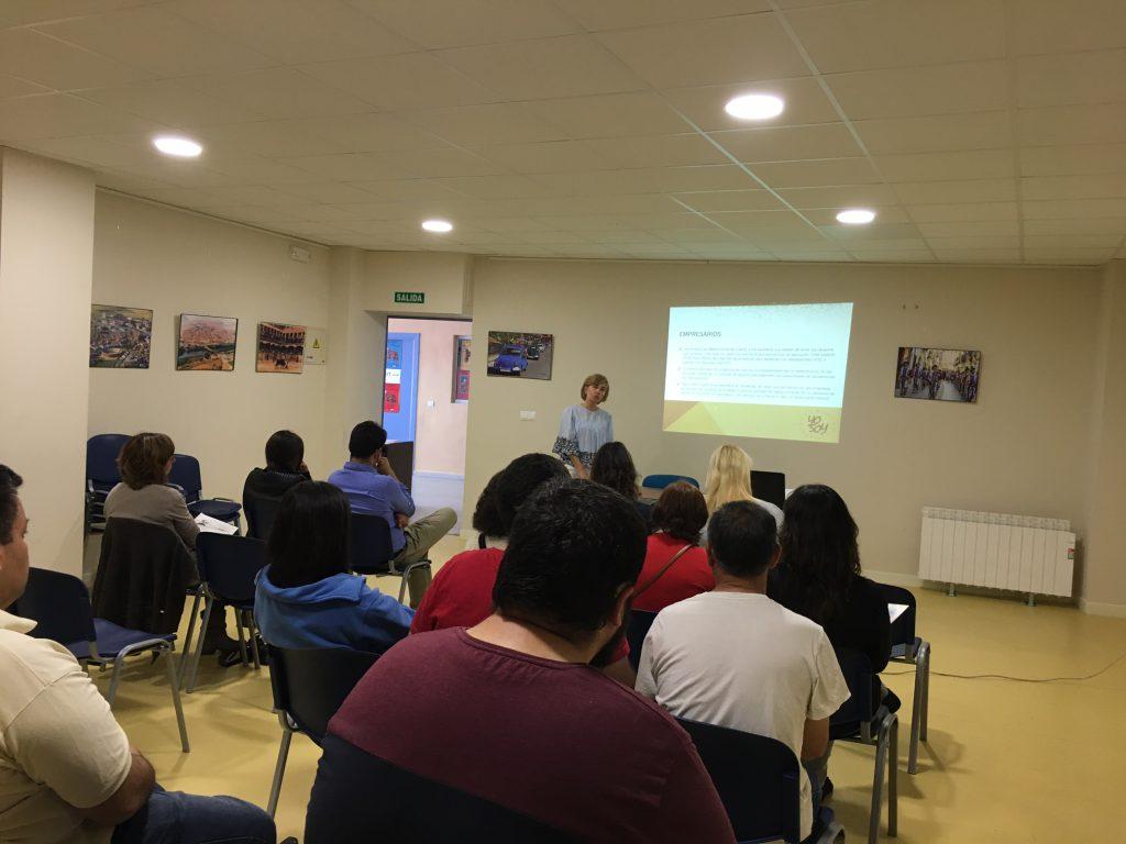 Presentación de Yo Soy en Tordesillas