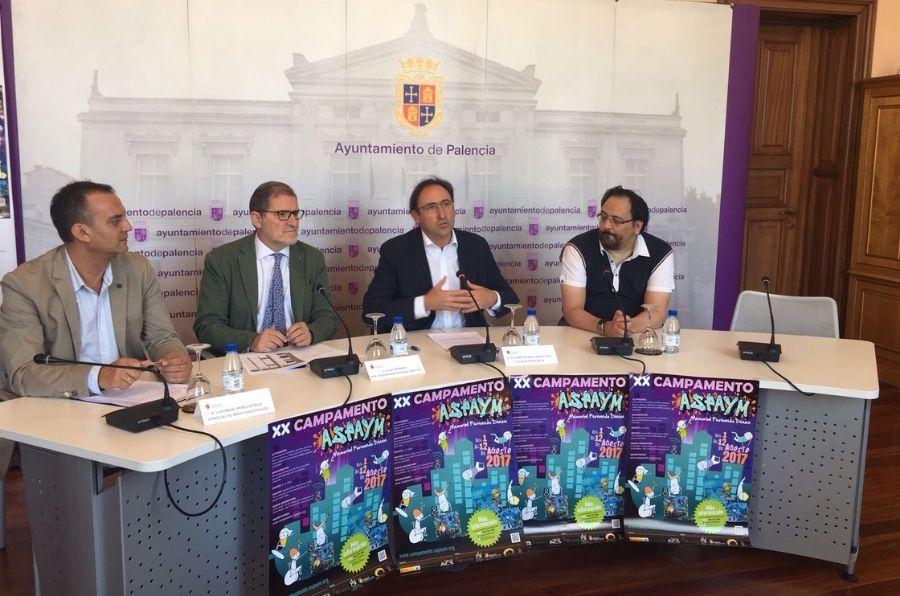 Presentación en Palencia del XX Campamento ASPAYM