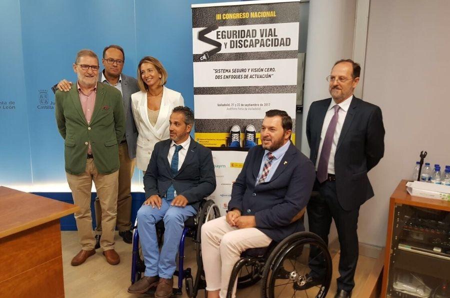 Presentación del Congreso Nacional de Seguridad Vial y Discapacidad