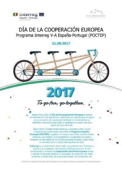 Cartel Día de la Cooperación Europea