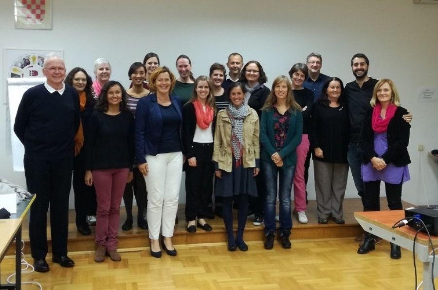 Participantes de la última reunión del proyecto CVI