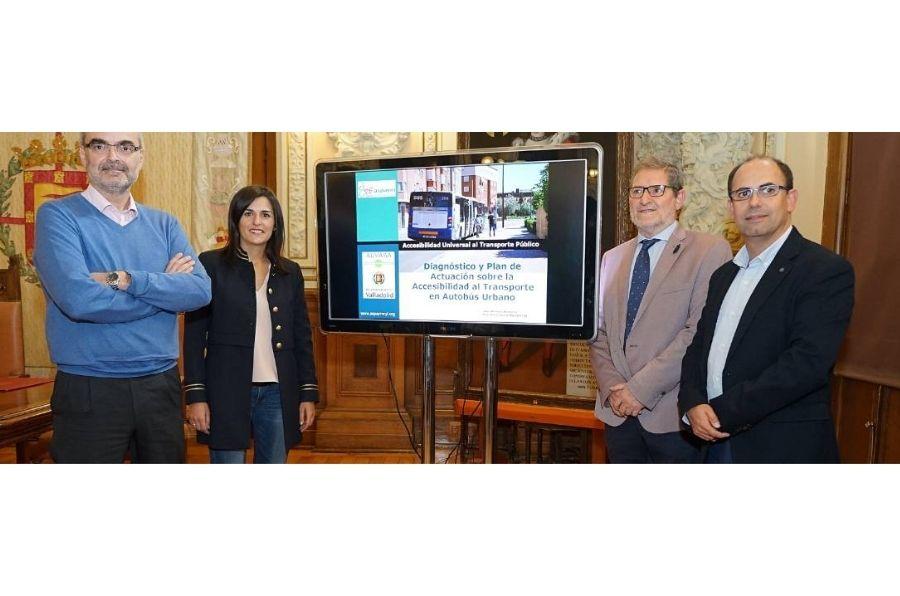 Presentación del proyecto de accesibilidad de AUVASA con ASPAYM CyL