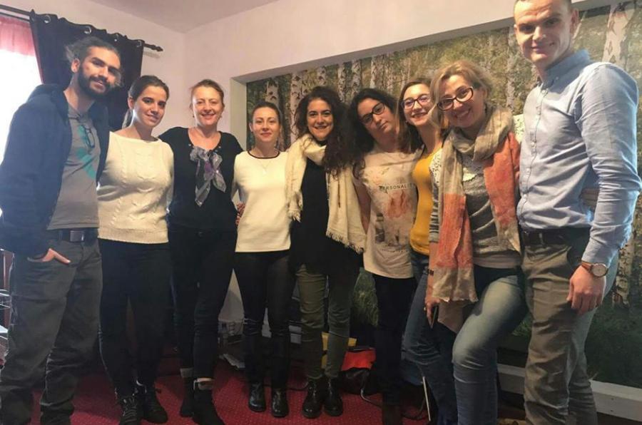 Participantes en el proyecto Love, life & dance