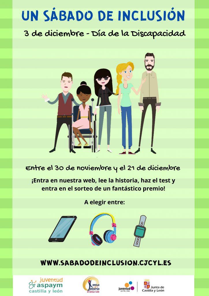 Cartel del concurso sábado de Inclusión