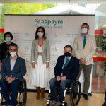 La Consejera de Empleo e Industria visita Javacoya, el Centro Tecnológico de Accesibilidad de ASPAYM Castilla y León