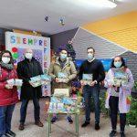 """La campaña """"la Navidad de los sueños. ASPAYM en tu casa"""" llega al medio rural de Palencia"""