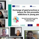 Reunión transnacional del proyecto Exchange of good practices of healthy leisure for the prevention od addictions in young people