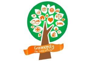 El logotipo de Gammopoly intenta simbolizar un árbol de la vida