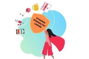 Logotipo del proyecto sobre adicciones