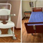 silla y cama en venta