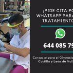 Pide cita por Whatsapp para tus tratamientos en nuestro Centro de Fisioterapia de Valladolid