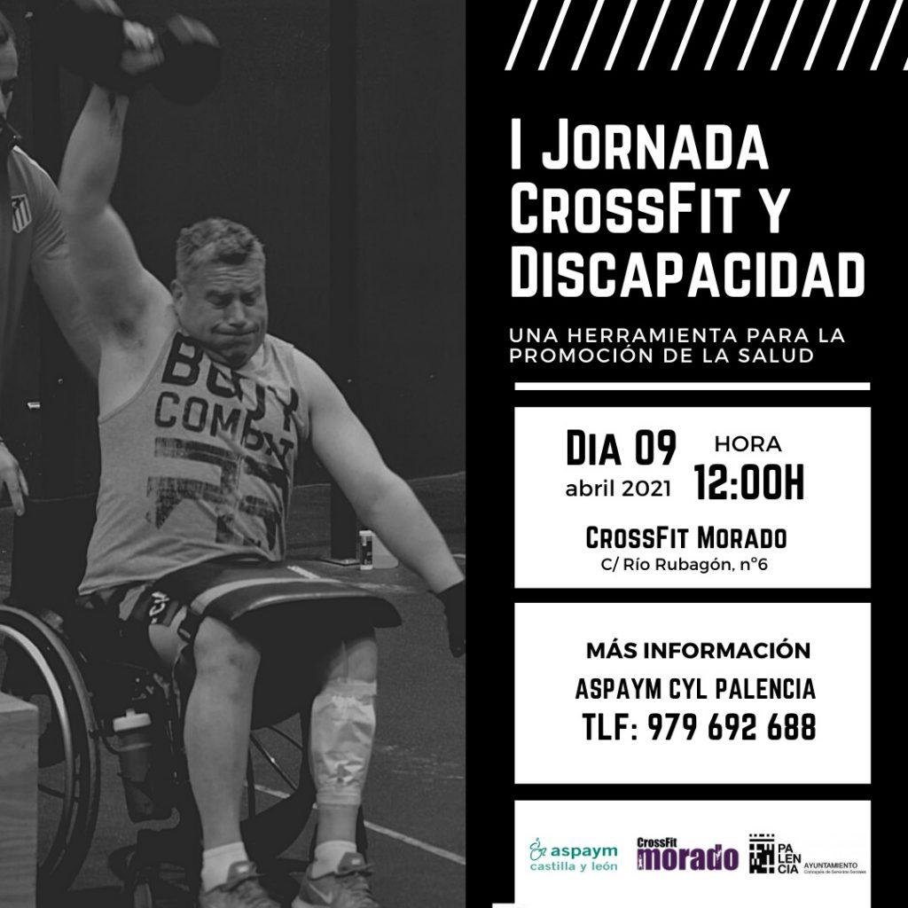 Cartel de Crossfit en Palencia