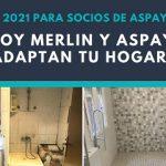 Abierta la convocatoria para la adaptación gratuita del hogar de ASPAYM CyL y Leroy Merlin