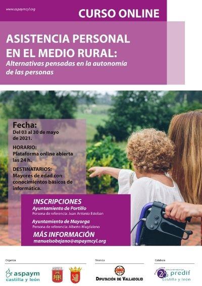 Curso online: Asistencia Personal en el medio rural: alternativas pensadas en la autonomía de las personas