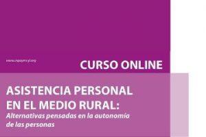 Curso online: Asistencia Personal en el medio rural
